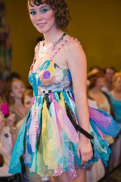 Circe Torosian, KAB Recycled Fashion Show | Keep Austin Beautiful