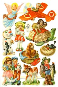 B&C 1285 Vintage Baby Pictures, Sticker Paper, Stickers, Christmas Decals, Decoupage, Disney Characters, Fictional Characters, Doodles, Victorian