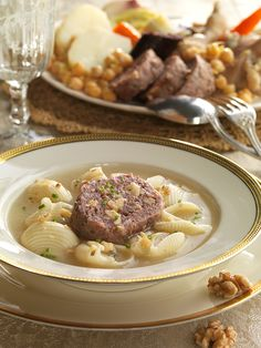 Stew, Soup Recipes, Pasta, Meat, Cooking, Ethnic Recipes, Regional, Food, Soups