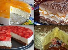 Graham Crackers, Czech Recipes, Ethnic Recipes, Oreo Cheesecake, Polish Recipes, No Bake Desserts, Deserts, Food And Drink, Cooking Recipes