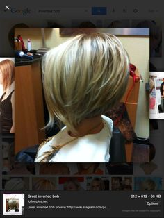 Great inverted bob