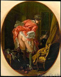 François Boucher - La jupe révélée