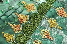 100 details in 100 days, #crazyquilt #quilt - color inspiration