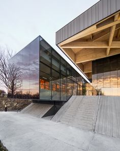 Completed in 2015 in Montreal, Canada. Images by Olivier Blouin. The history of the site of the St-Michel Environmental Complex has been marked by change and evolution. Since its beginning as a mining center, then...