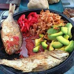 Ga Kenkey, a food originally enjoyed by only the Ga in Accra, but now generally accepted by most Ghanaians