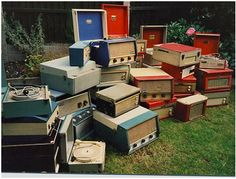 old reconditioned record players- Blasts from the Past