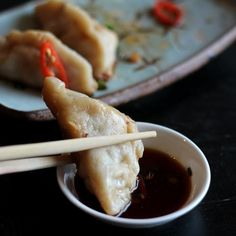 Pork Recipes : Chinese Dumplings and I had few interviews last week Recipe