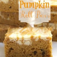Pumpkin Roll Bars | The Recipe Critic (great to use with pampered chef brownie pan)