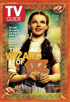 July 1, 2000 TV Guide 1 of 4 Collector's Covers: The Wizard of Oz