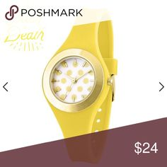 Yellow Polka-dot Watch |NWOT| New Yellow & Polka-dot 30mm Quartz Watch, very stylish, unique yet splendid for that lady on the go. Suitable for youth!   .Ask About Custom Bundles.  .Poshmark Rules Only. No Trades.  .Additional Pics Available as Time Allows. Accessories Watches