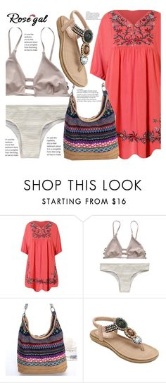 """Rosegal 12"" by fattie-zara ❤ liked on Polyvore"