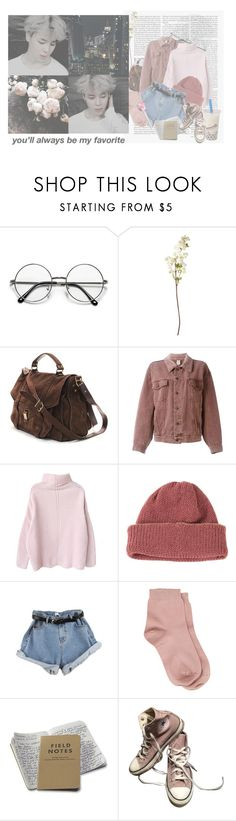 """jimin // you'll always be my favorite"" by nolxy ❤ liked on Polyvore featuring Edition, OKA, Proenza Schouler, Moschino, CA4LA, Maria La Rosa, Converse, kpop, bts and jimin"