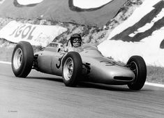 Today in '62, Dan Gurney takes his first, and Porsches only (as a constructor) win at the French Grand Prix.