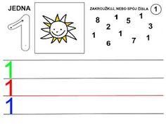 Pro Šíšu: Čísla - pracovní listy Kids Learning Activities, Playing Cards, Letters, Games, School Ideas, Early Education, Activities, Infant Learning Activities, Numbers Preschool