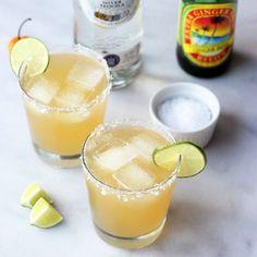 Ginger Beer Habanero Margarita