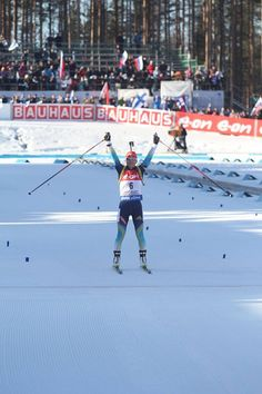 Congratulations for today's 1st gold medalist Valj Semerenko!