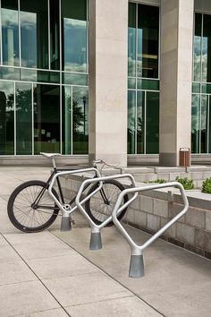 FGP Bike Rack #landscapeforms #sitefurniture #outdoorfurniture #landscapearchitect  #bikerack