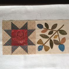 A week before Christmas and not as much time to sew....but managed to finish another block.