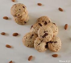 Je suis dans ma période cookies qui sortent de l'ordinaire… Bon, c'est vrai que j'y suis un peu obligée, les seuls biscuits (ou presque…) que j'arrive à faire avec un …