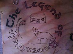 """Una de mis creaciones... Diseño de """"Loba Sioux Celta"""""""
