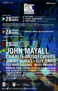 Llega a la Ciudad de Zapopan Jalisco, el Festival Internacional de Blues y música afroamericana:Grooves & Blues Guadalajara.