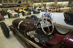 """In 1939 and 1940, Wilbur Shaw drove a Maserati Tipo 8CTF to two consecutive victories in the Indianapolis 500. Maserati is the first #Italian car to have won """"The World's Most Famous Race"""". The Boyle Special Maserati now resides in The Hall of Fame Museum at the #Indianapolis Motor Speedway."""