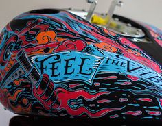 "Check out new work on my @Behance portfolio: ""Harley Davidson gas tank custom by kartess"" http://on.be.net/1O39Jif"