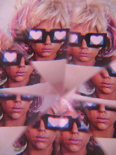 Lady Gaga Kaleidoscope vision