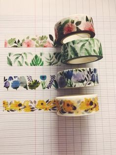 DEE Mt Tape, Duck Tape, Masking Tape, Stationary Organization, Stationary Supplies, Washi Tape Cards, Washi Tapes, Keeping A Bullet Journal, Cinta Washi