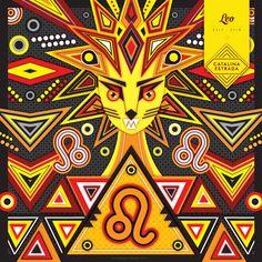 Hoy el sol está en #LEO! 21/7 - 21/8 //// Today the sun is in LEO! 21/7 - 21/8 #AstrologicalSigns #Zodiac #Leo #CatalinaEstrada