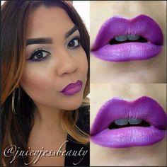 Smoked Purple Lipstick   Instagram Insta-Glam: Purple Lipstick   Beauty High