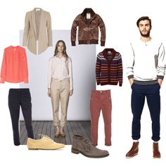 How to wear chinos for men and women!