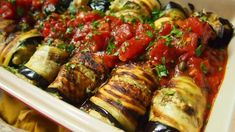 vegan eggplant involtini with ricotta