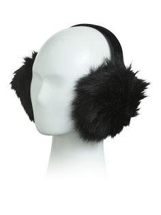 I Am The Rebellious Girl Winter Earmuffs Ear Warmers Faux Fur Foldable Plush Outdoor Gift