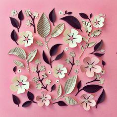 Paper flowers / Hanna Nyman