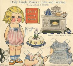 blonde dolly - from 1922 magazine; Campbell's Soup Kids Creator
