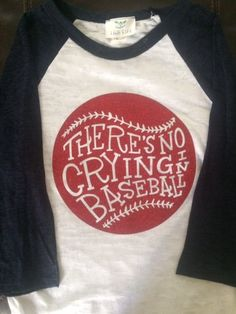 There's No Crying In Baseball, Glitter Tee | A League of their Own | $18.99 on Jane.com