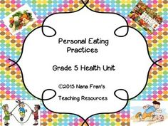 This Grade 5 Health teaching resource offers an in-depth coverage of all the indicators for the outcome USC5.1:Analyze person eating practices.Although it has been written to meet the outcome and indicators for the Saskatchewan Health curriculum, it will meet the needs of educators teaching students about practices for ensuring that they eat in a healthy manner.Lessons are presented in the order of the indicators:a.