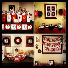 Michael Jackson themed birthday party
