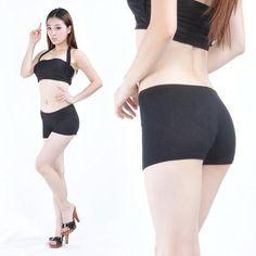 Belly Dance Costume Safety Underwear Cotton Tight Legging Short Pants