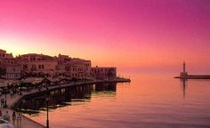 Chania, Souda Bay (I've been twice. It's such a charming city, full of history and beauty! RP)