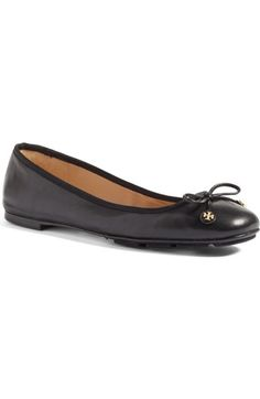 Tory Burch Laila Driver Ballet Flat (Women) available at #Nordstrom
