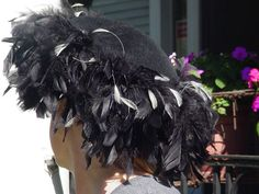 Vintage Mr. John Feathered Hat  Vintage Hat  by VintageBlohms, $100.00