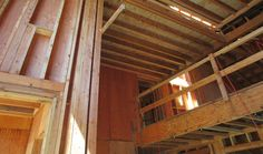 Framing Continued | Brion Jeannette Architecture | Newport Beach California | Energy Conscious Design