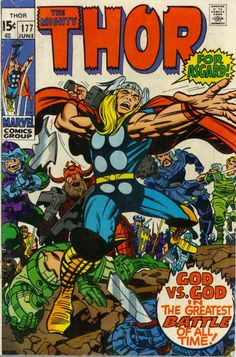 thor comic | ... to Love Comics #204 | Comics Should Be Good! @ Comic Book Resources