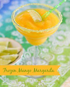 Frozen Mango Margarita recipe, frozen cocktail recipes, Fruttare, fruit bars
