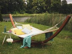 IN STOCK: best prices on Cotton Hammock with Stand - Light Beige TREVISO - choose between 7 Hammock with stand