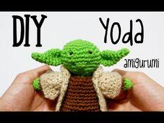 DIY Yoda Star Wars amigurumi crochet.ganchillo (tutorial)