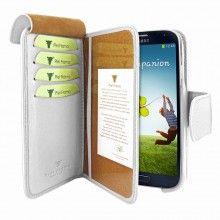 Forro Samsung Galaxy S4 Piel Frama Wallet - Blanca  Bs.F. 807,28
