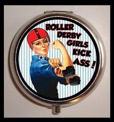 Roller Derby Girls Kick Ass!